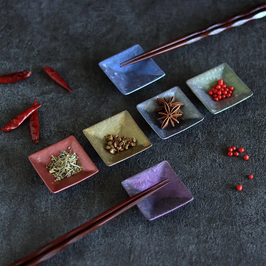 麟 Lin 角型豆皿セット
