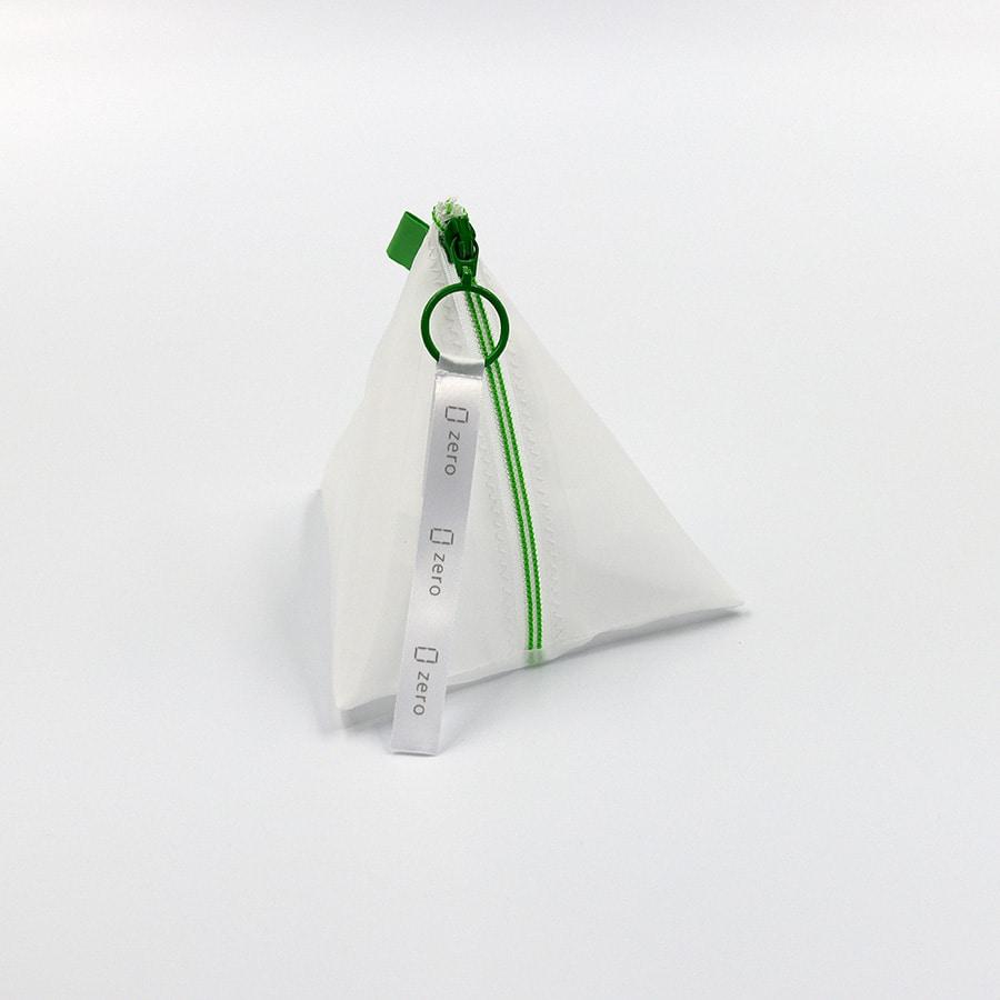 三角(グリーン)