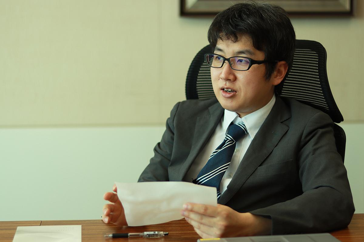 三井化学株式会社の梶原さん